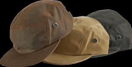 OIL CLOTH CAMP CAP