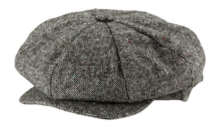 TWEED NEWSBOY CAP