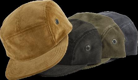 CORDUROY CAMP CAP